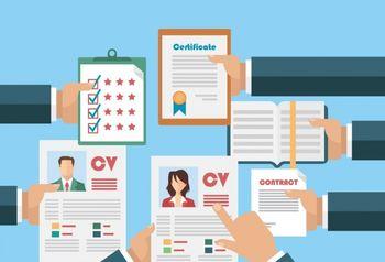 Pisanje CV-ja in simulacija razgovorov za delo