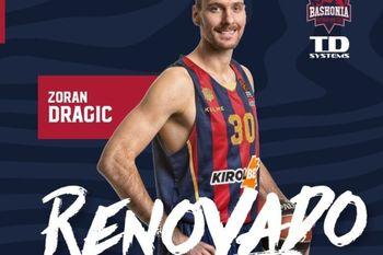 Zoran Dragić podaljšal z Baskonio