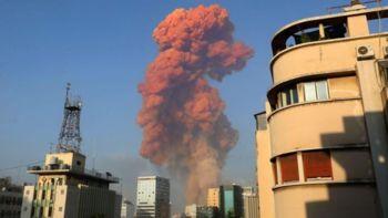 Vlada namenila pomoč Libanonu ob eksploziji v Bejrutu