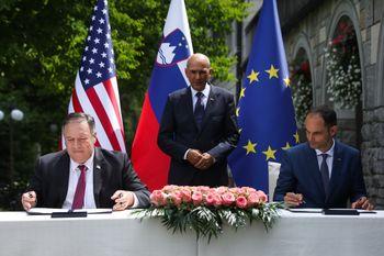 Slovenija in ZDA sprejeli skupno izjavo o varnosti omrežij 5G
