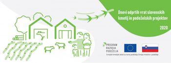 Vabljeni na dneve odprtih vrat slovenskih kmetij in podeželskih projektov