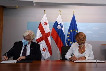 Slovenija in Gruzija skupaj na področju trajnostnega upravljanja z gozdovi