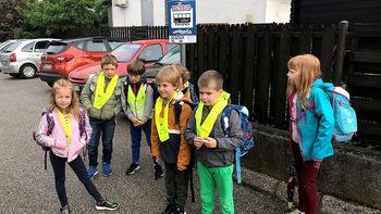 V akciji Varno v šolo sodeluje tudi medobčinsko redarstvo