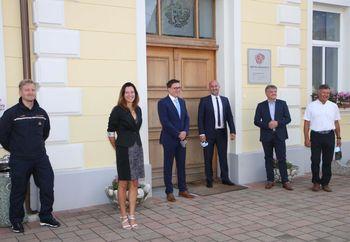 Minister Boštjan Koritnik obiskal občino Braslovče