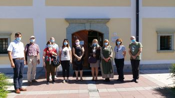 Staro Savo obiskali avstrijski novinarji