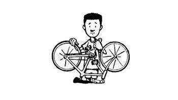 Servis koles na OŠ Bršljin