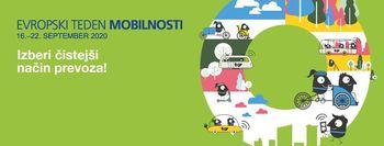 VIDEO: Evropski teden mobilnosti - Izberi čistejši način prevoza!