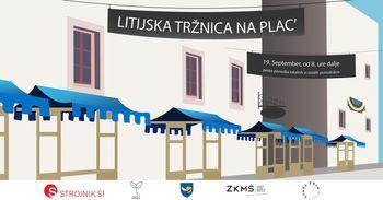 Litijska tržnica Na plac' 19. septembra na novi lokaciji