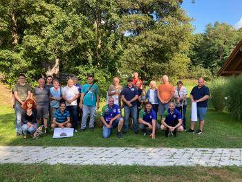 Krvni bratje pri Strelskem društvu jezero Dobrovnik
