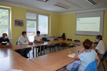 Župan Račič s predstavniki stranke SAB o zdravstveni dejavnosti na Jesenicah