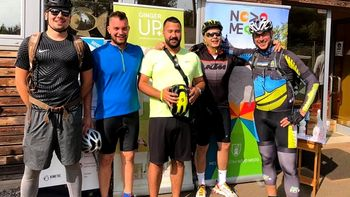 Ekipa RideMe organizirala vodeno turo po Gorjancih