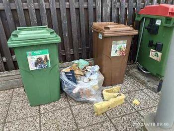 Nepravilno odlaganje odpadkov pri vrtcu