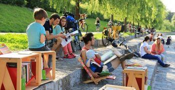 Odlična ocena za Ljubljano, mesto literature