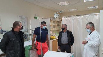 Minister za zdravje obiskal Tolmin in Bovec
