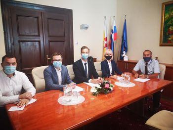 Obisk ministrice za pravosodje