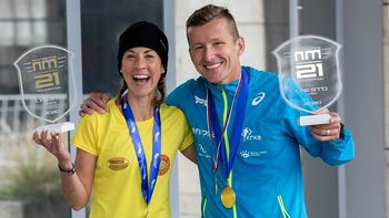 Primož Kobe zmagovalec 3. novomeškega polmaratona