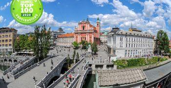 Ljubljana že šesto leto med 100 najbolj trajnostnimi destinacijami