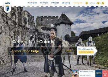 Spletna stran visitcelje.eu nominirana za prestižno nagrado