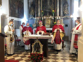 Spominska sveta maša ob godu sv. Maksimilijana Celjskega, ki je zavetnik našega mesta