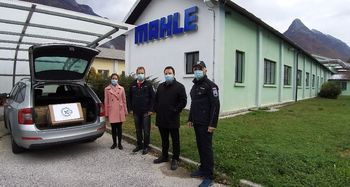 DONACIJA MAHLE ELECTRIC DRIVES BOVEC D.O.O.