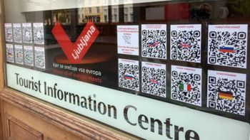 Informacije o Ljubljani in okolici na voljo tudi, ko je TIC zaprt