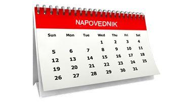 Priprava koledarja dogodkov za leto 2021