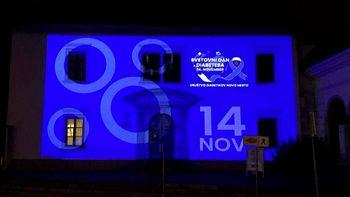 Z modro osvetlitvijo obeležujemo Svetovni dan diabetesa