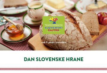 Tudi tradicionalni slovenski zajtrk letos malo drugače