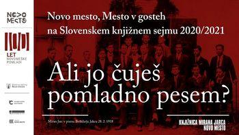 Novomeška pomlad na spletnem Slovenskem knjižnem sejmu