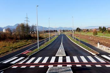 Severno vezno cesto smo danes odprli za promet