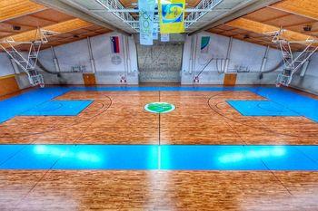 Prenovljen parket v Športni dvorani Zagorje