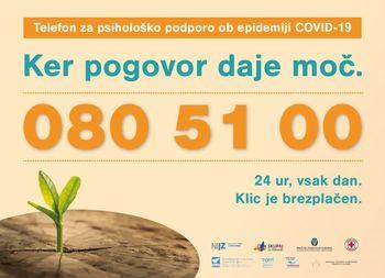 Psihološka pomoč po telefonu 24 ur dnevno
