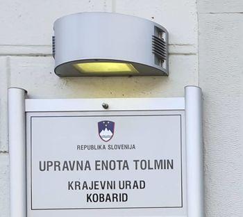 Krajevni urad Kobarid do nadaljnjega zaprt