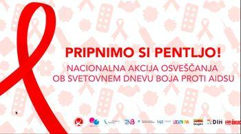 Ob svetovnem dnevu AIDSA - globalna solidarnost, skupna odgovornost
