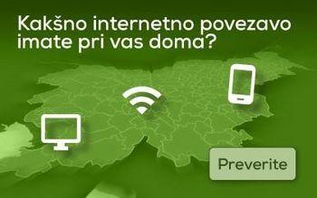 Možnosti za dostop do širokopasovnega omrežja in v primeru nedelovanja storitev ali nedostopnosti interneta