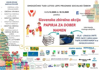 Slovenska zbiralna akcija papirja za dober namen