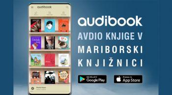 Zvočne knjige prekmobilne aplikacije Audibook