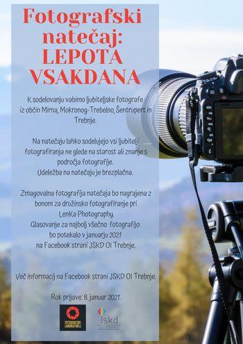 FOTOGRAFSKI LABORATORIJ: Fotografski natečaj: LEPOTA VSAKDANA