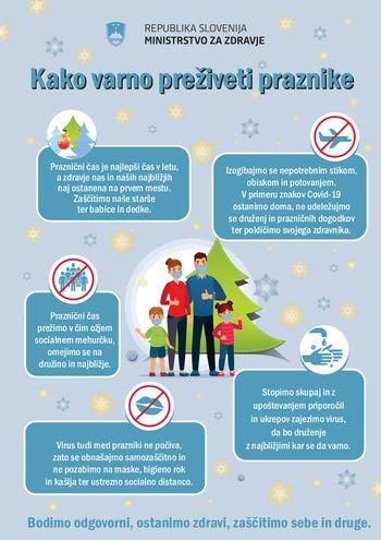 Kako varno preživeti praznike