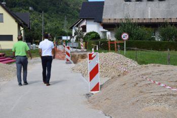 Podaljšanje roka izgradnje kanalizacije na Lipcah