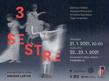 Nova predstava APT-ja z naslovom Tri sestre