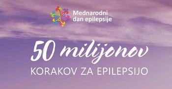 Z milijoni korakov do večje osveščenosti o Mednarodnem dnevu epilepsije