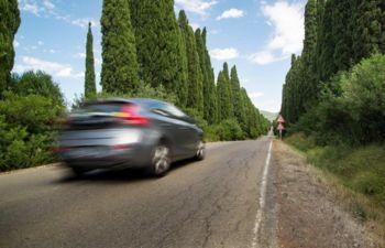 Obvestilo o merjenju hitrosti