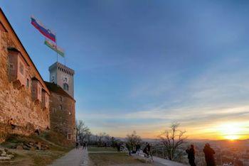 Ljubljanski grad v letu, zaznamovanem s pandemijo