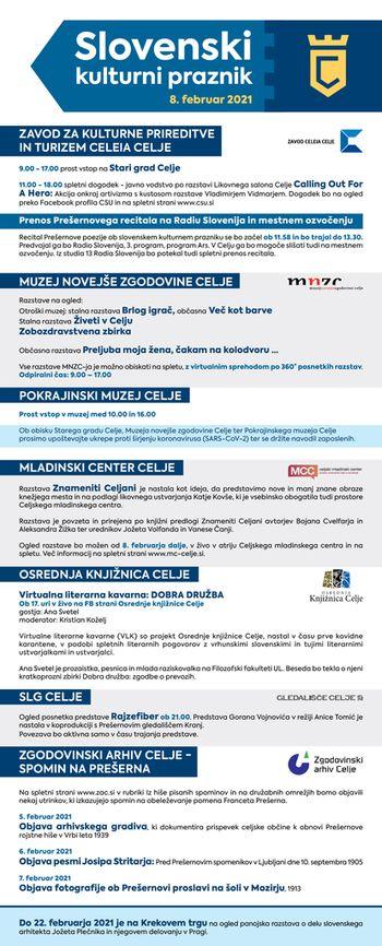Slovenski kulturni praznik v Celju