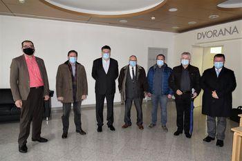 """Srečanje županov občin SOU 5G v zvezi z objavljenim javnim razpisom za demonstracijske projekte vzpostavljanja pametnih mest in skupnosti """"JR PMIS"""""""