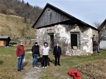 Georadarske raziskave na območju stare cerkve