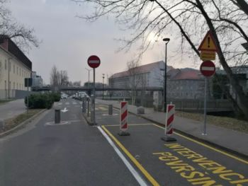 Spremenjen prometni režim na Šuštarjevem nabrežju