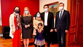 Novo mesto obiskala ministrica za Slovence v zamejstvu in po svetu dr. Helena Jaklitsch