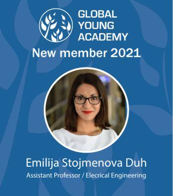 1. predstavnica Slovenije v Global Young Academy